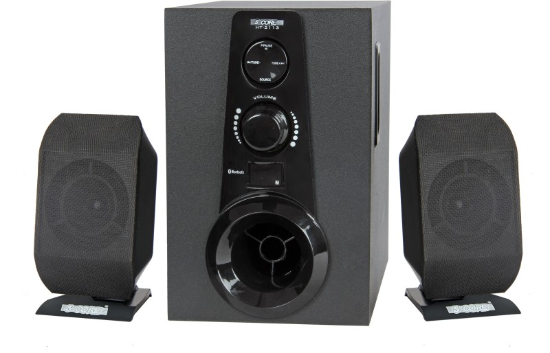 5 Core Multimedia SPK 2113 For Computer Home Audio Speaker(Black, 2.1 Channel)