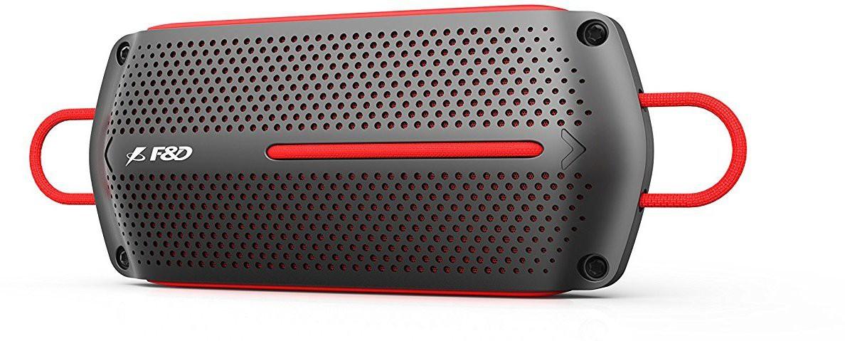 F&D W12 4 W Portable Bluetooth Home Audio Speaker(Grey, Mono Channel) image