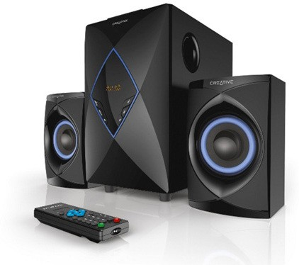 Creative SBS -E2800 Home Audio Speaker(Black, 2.1 Channel)