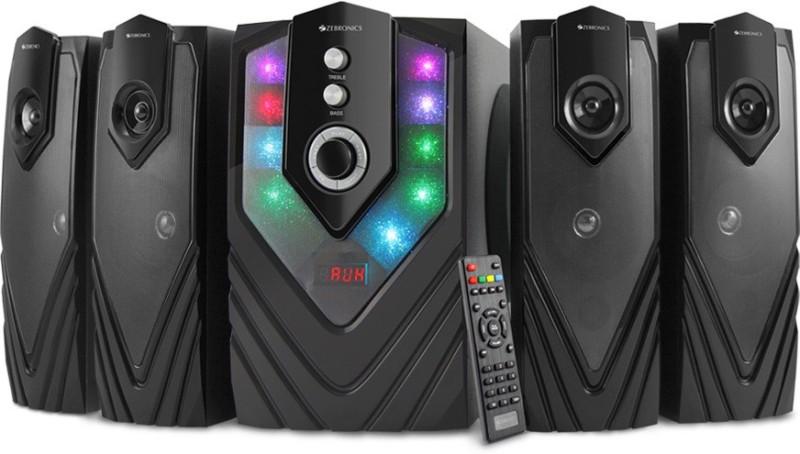Zebronics ZEB - SAMBA Bluetooth Home Audio Speaker(Black, 4.1 Channel)