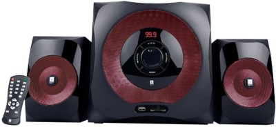 iBall Tarang Red 2.1 Portable Bluetooth Home Audio Speaker(Black, 2.1 Channel)