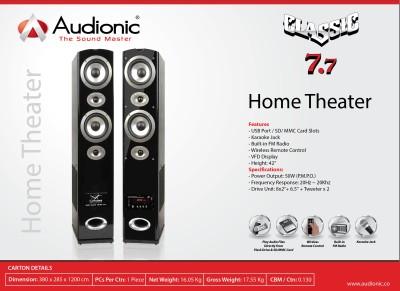 Audionic CLASSIC-7.7HOMETHEATRE Home Audio Speaker