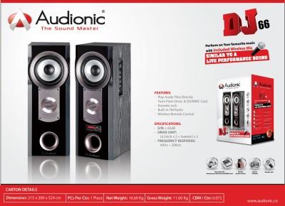 Audionic DJ-66 Home Audio Speaker