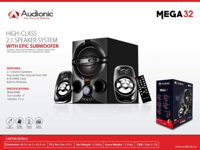 Audionic MEGA-32 Home Audio Speaker