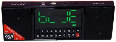 Sonilex BS-119 FM Digital Portable Bluetooth Home Audio Speaker(Multicolor, NA Channel)