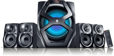Iball Breathless BT49 Mini Hi-Fi System(Black)