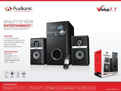 Audionic VISION-7.7(USB&SDCARDPLAYER Home Audio Speaker