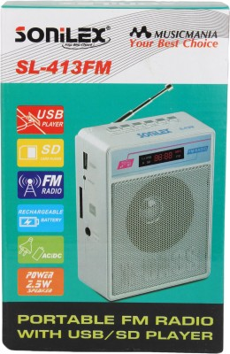 Sonilex SL-413FM Home Audio Speaker