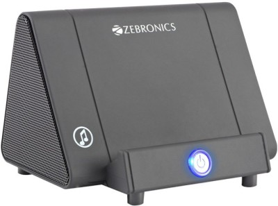Zebronics Amplify Portable Home Audio Speaker(Black, Stereo Channel)