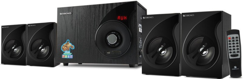 Zebronics SW3494RUCF Home Audio Speaker(Black, 4.1 Channel)