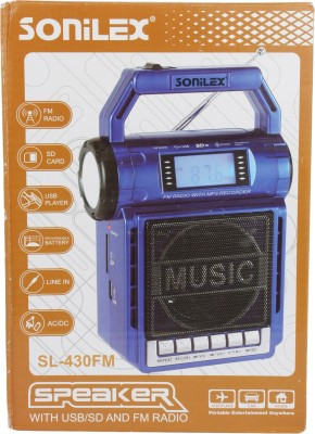 Sonilex SL-430FM Home Audio Speaker