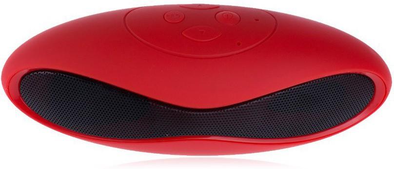 Iktac Speaker Portable Bluetooth Laptop/Desktop Speaker(Red, 2.1 Channel)