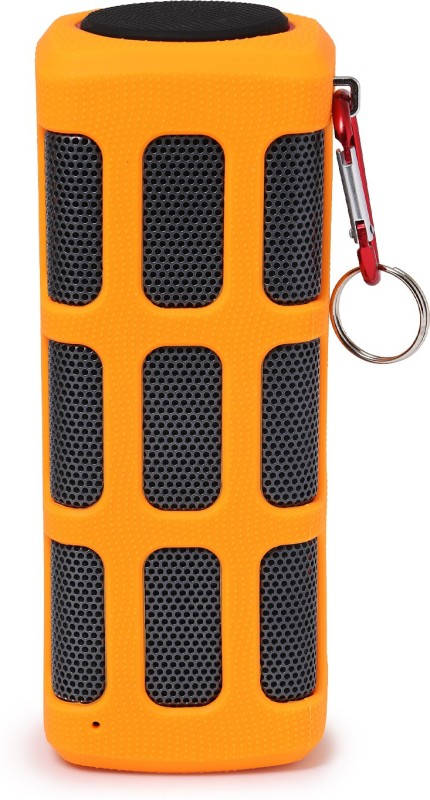 zydeco S7720 Portable Bluetooth Home Audio Speaker(Orange, 2.0 Channel)