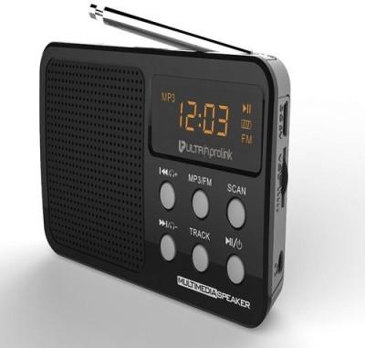 UltraProlink RETRO Multimedia Speaker UM0017BLK Portable Home Audio Speaker