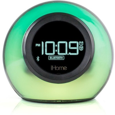 iHome iHome Bluetooth Color Changing Speaker with USB Charging Speakerphone, Dual Alarm Clock FM Radio - iBT29 Portable Bluetooth Home Audio Speaker