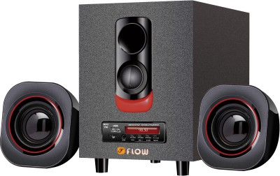 Flow Blaze 2.1 USB FM MMC Home Audio Speaker
