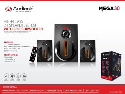 Audionic MEGA-30 Home Audio Speaker