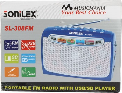 Sonilex SL-208FM Home Audio Speaker
