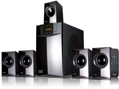 Impex 5.1 (CLASSIC Gold) Portable Home Audio Speaker