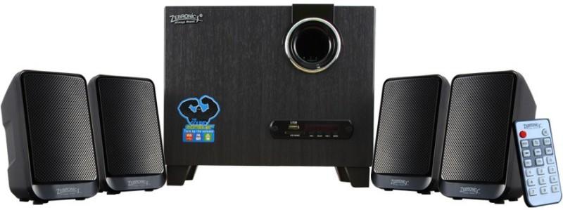 Zebronics Multimedia SW265RUCF Home Audio Speaker(Black, 4.1 Channel)