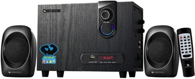 Zebronics Sw2492 Rucf Home Audio Speaker(Black, 2.1 Channel)