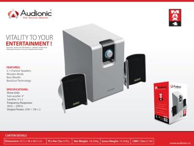 Audionic MAX-4 Home Audio Speaker