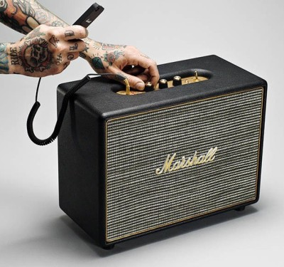 Marshall Woburn Bluetooth Home Audio Speaker(Black, 2 Channel)