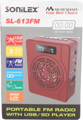 Sonilex SL-613FM Home Audio Speaker