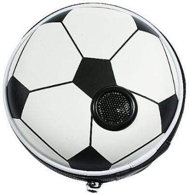 Shrih Football Carrying Case Portable Home Audio Speaker(Black White, Stereo Channel)