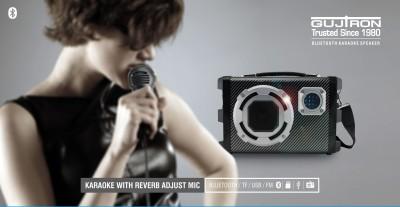 Gujtron Bluetooth Karaoke Speaker Portable Bluetooth Home Audio Speaker