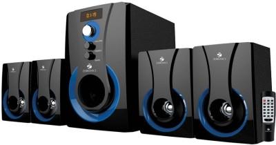 Zebronics 4.1 Multimedia SW3490 RUCF Home Audio Speaker(Black, 4.1 Channel)