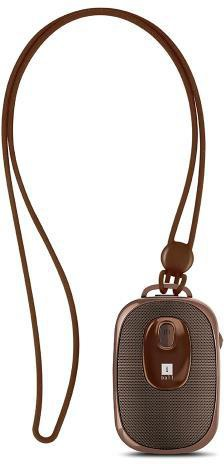 Iball Musi Dangle BTH Portable Bluetooth Home Audio Speaker(Brown, NA Channel)