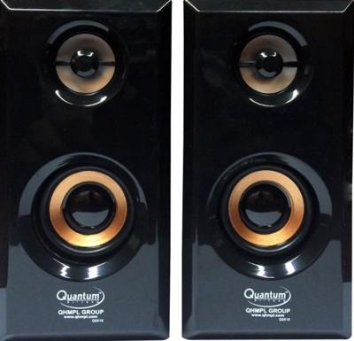 Quantum QHM630 Laptop/Desktop Speaker(Black, 2.0 Channel)