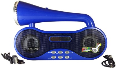 Huppme Rechargable Multifunction Speaker With FM,Tourch,USB, & Micro Card Portable Home Audio Speaker