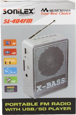 Sonilex SL-404FM Home Audio Speaker