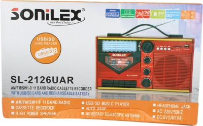 Sonilex SL-2126UAR Home Audio Speaker