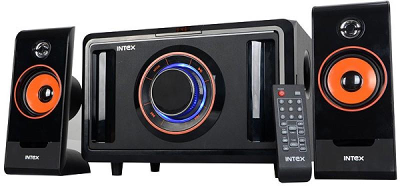 Intex IT-2590 SUF Home Audio Speaker(Black, 2.1 Channel)