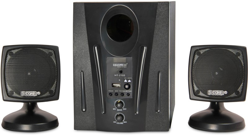 5 Core Multimedia Spk 2.1-05 For Computer Home Audio Speaker(Black, 2.1 Channel)