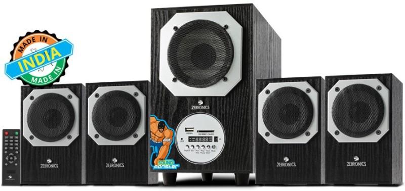 Zebronics BT4441 Home Audio Speaker(Black, 4.1 Channel)