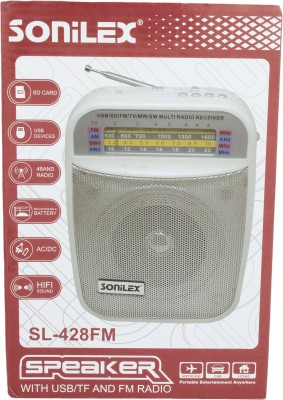 Sonilex SL-428FM Home Audio Speaker