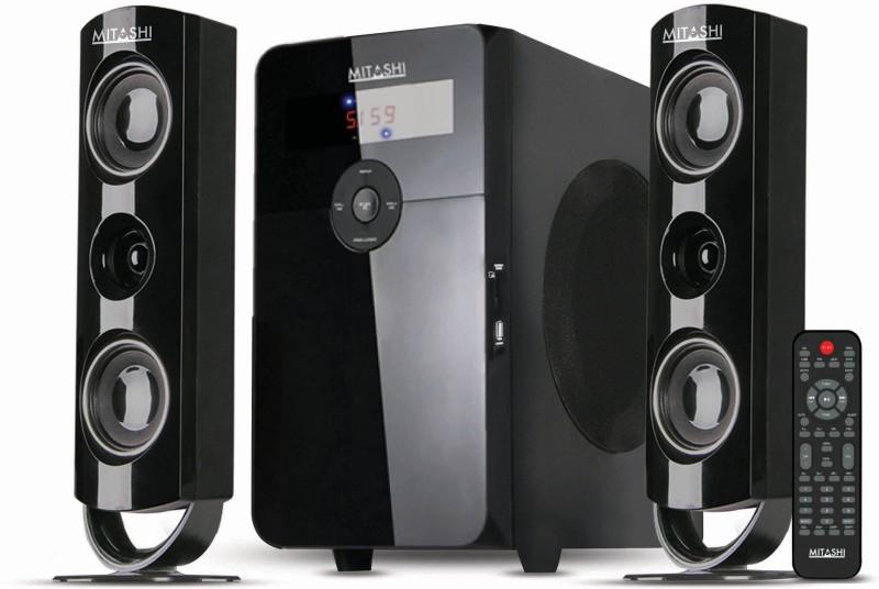 Mitashi HT 97BT Bluetooth Home Audio Speaker(Black, 2.1 Channel)