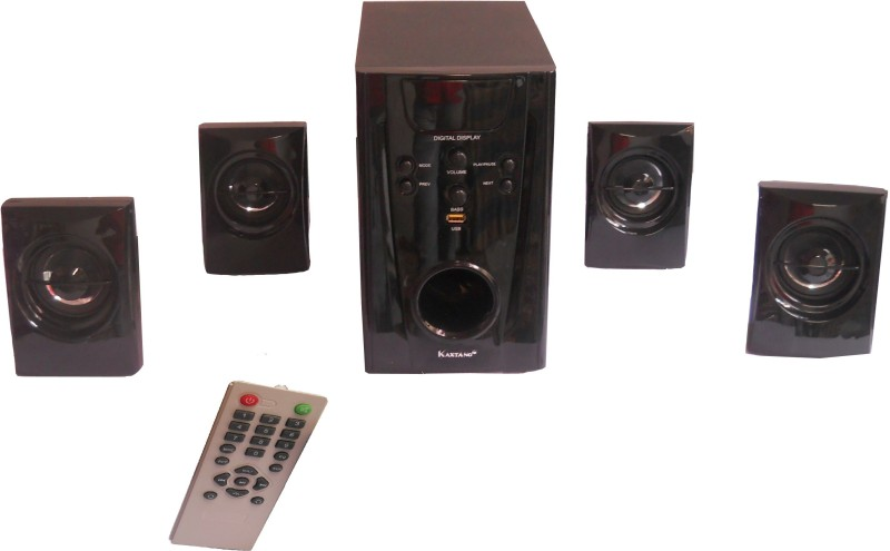 Kaxtang -8888 HT 4.1 Woofer 9000 P.M.P.O. Multimedia Home Audio Speaker(Black, 4.1 Channel)