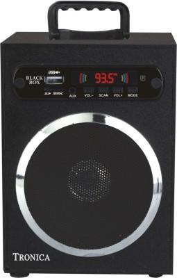 Tronica Black Box Portable Home Audio Speaker(Black, 1.1 Channel Channel)