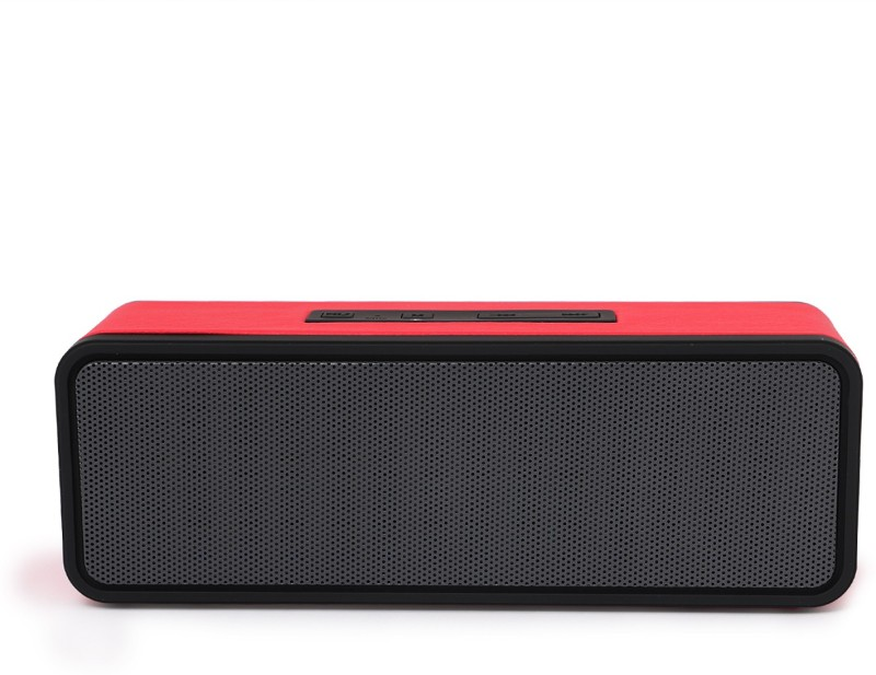 zydeco XC601 Portable Bluetooth Home Audio Speaker(Red, 2.0 Channel)