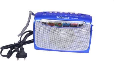 Sonilex MUSICMANIA Portable FM Radio With USB/SD Player Portable Bluetooth Home Audio Speaker