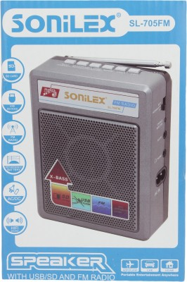 Sonilex SL-705FM Home Audio Speaker