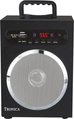 Tronica Spectrum Grey Box Portable Home Audio Speaker