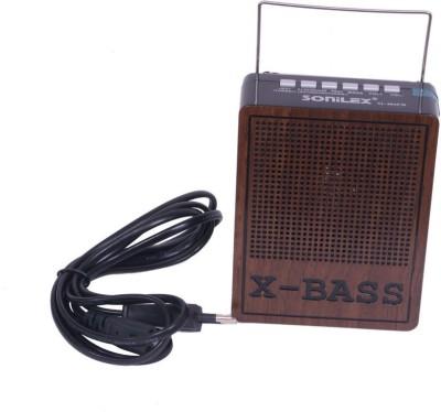 Sonilex Rechargable Portable FM Radio With USB,SD Player Portable Bluetooth Home Audio Speaker