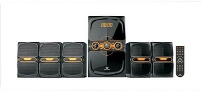 Splind SR7155B-Black Bluetooth Home Audio Speaker