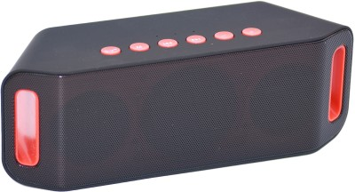 Adcom Mini Bluetooth -S204 Black Bluetooth Home Audio Speaker(Black, 1.0 Channel)